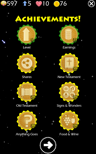 Play The Jesus Bible Trivia Challenge Quiz Game screenshots 12