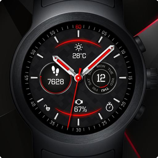Fusion Watch Face & Clock Live Wallpaper
