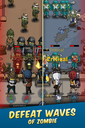 Zombie War: Idle Defense Game 20 screenshots 19