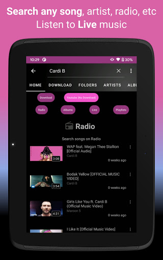 Video, Download, Music Free Player, MP3 Downloader apktram screenshots 20
