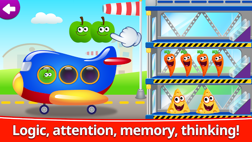 Funny Food 123! Kids Number Games for Toddlers  screenshots 5