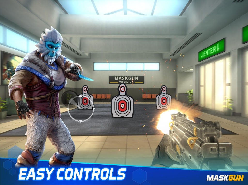MaskGun Multiplayer Shooting Game - Made in India poster 11