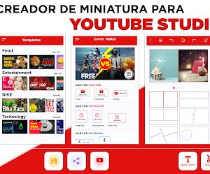Apk para crear miniaturas profesionales para YouTube