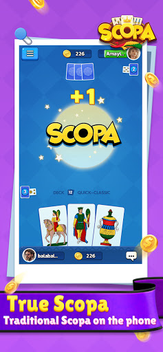 Scopa:Italian Card Game online 1.1.9.0 screenshots 8