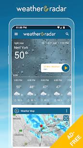 Weather & Radar USA MOD Apk 2021.1 (Unlocked) 1