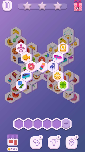 Tile Match Hexa 1.0.2 screenshots 10