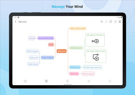 Nice Mind Map - Mind mapping maker,mindmap inspire