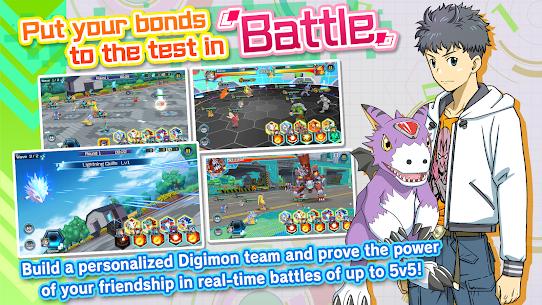 Digimon Links MOD APK (God Mode/High Damage) 4