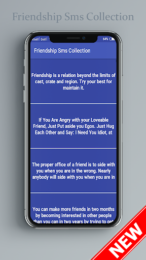 Friendship Sms Collection screenshots 1