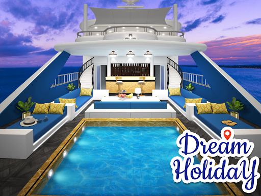 Dream Holiday - Travel home design game apkdebit screenshots 1