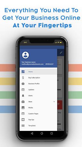 Instant Website Builder: Websites.co.in App apktram screenshots 7