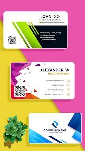 Business Card Maker MOD APK (Premium Unlocked) Download 4