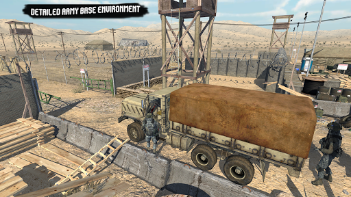US Army Truck Pro:Army Transport modavailable screenshots 4