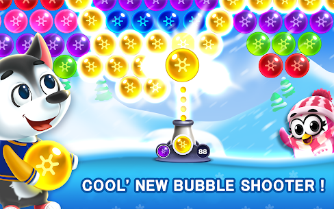 Bubble Shooter MOD APK- Frozen Pop (Unlimited Lives) Download 1
