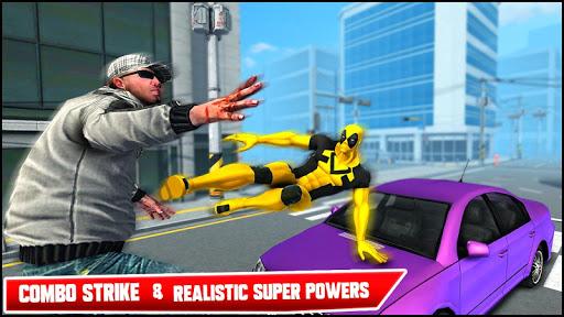 Real Ninja Superhero Las Vegas gangster Fight 1.0.1 screenshots 9