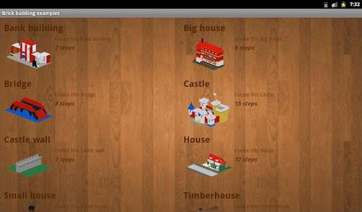 Brick building examples screenshots 10
