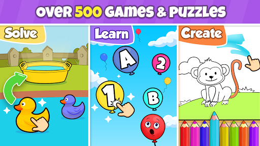 Toddler learning games for kids: 2,3,4 year olds  screenshots 1