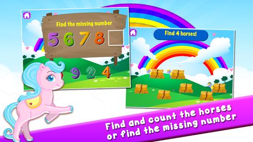 Pony Learns Preschool Math 3.32 screenshots 5