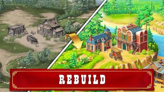 Jewels of the Wild West: Match-3 Gems Game 9