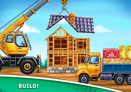 Image For Truck games for kids - build a house, car wash Versi 7.3.4 16