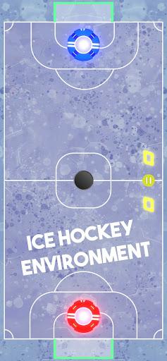 Air Hockey Glow HD screenshots 4