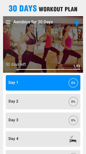 Aerobics Workout at Home screenshot 1