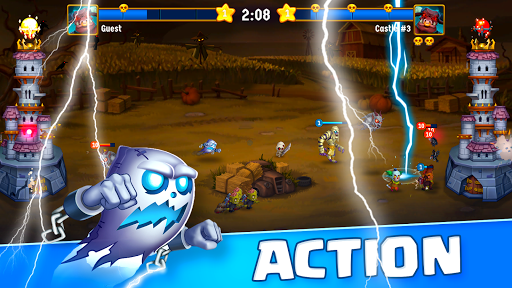 Spooky Wars - Battle Castle Defense Strategy Game SW-00.00.58 screenshots 2
