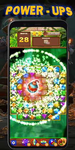 Jewel Quest : Match 3 android2mod screenshots 4