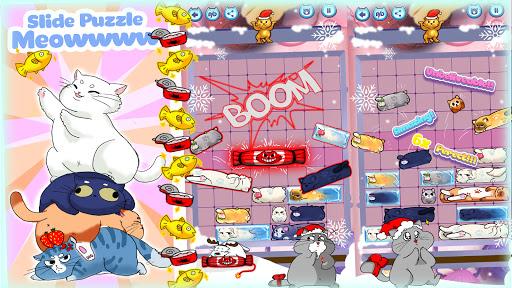 slide puzzle: train brain by solving cat challenge screenshot 1