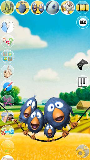 Talking Birds On A Wire apktreat screenshots 2