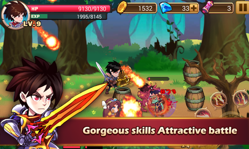 Brave Fighter:Demon Revenge  screenshots 1