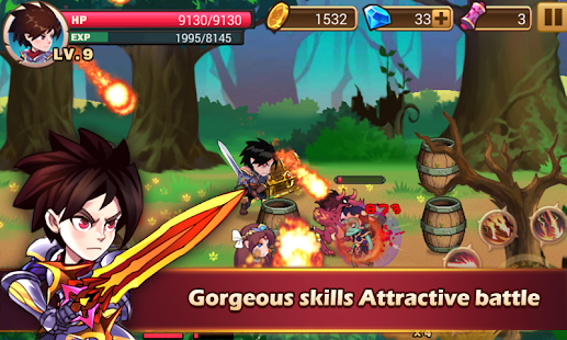 Brave Fighter:Demon Revenge 1.4.0 APK + Mod (Unlimited money) for Android