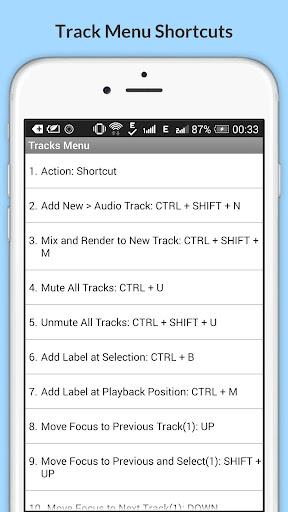Free Audacity Shortcuts 6.6.6.2 Screenshots 14