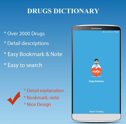 Drugs Dictionary Offline - Drug A-Z List 2.0 Screenshots 1