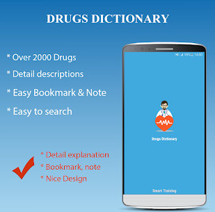 Drugs Dictionary Offline  For Pc 2020 (Download On Windows 7, 8, 10 And Mac) 1