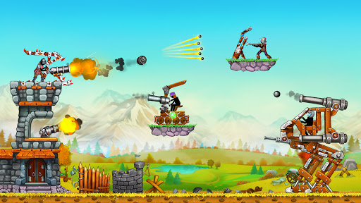 The Catapult 2: Grow Castleu30fbTower Defenseu30fbStickman  screenshots 19