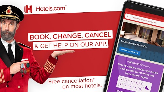 Hotels.com: Book Hotels, Vacation Rentals and More 1