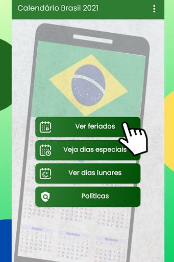 Calendu00e1rio Brasil 2021 Gru00e1tis android2mod screenshots 1