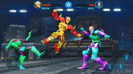 Robot X Street Battle: Beat Em Up Warrior Assassin apkmr screenshots 4