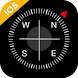 iCompass - iOS Compass, iPhone style Compass - Androidアプリ