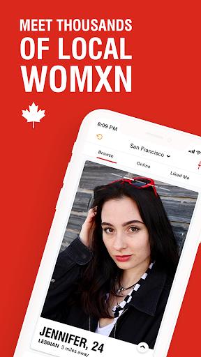 Her - Lesbian Dating, Free Chat & Meet with LGBTQ+ 3.8.1 screenshots 1