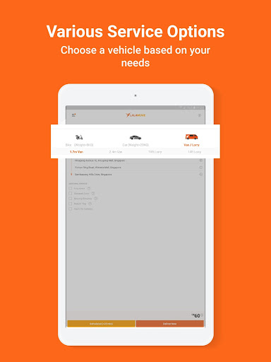 Lalamove - 24/7 On-Demand Delivery App 103.5.1 Screenshots 10