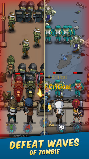 Zombie War: Idle Defense Game 20 screenshots 3