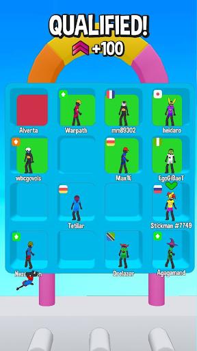 Stickman Fall | Running Stick Guys 3D Varies with device screenshots 12