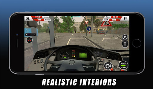 Euro Coach Bus Driving - offroad drive simulator android2mod screenshots 11