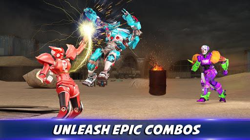 Robot X Street Battle: Beat Em Up Warrior Assassin apkmr screenshots 3