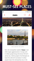 screenshot of ✈ France Travel Guide Offline