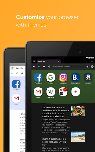 Foto do Opera browser with free VPN