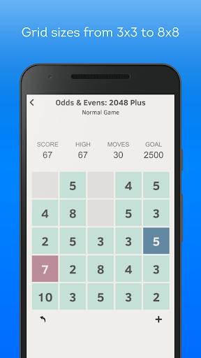 odds & evens: 2048 plus screenshot 3