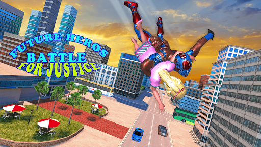 Superhero Captain Robot Games: Super Hero Man Game screenshots 1